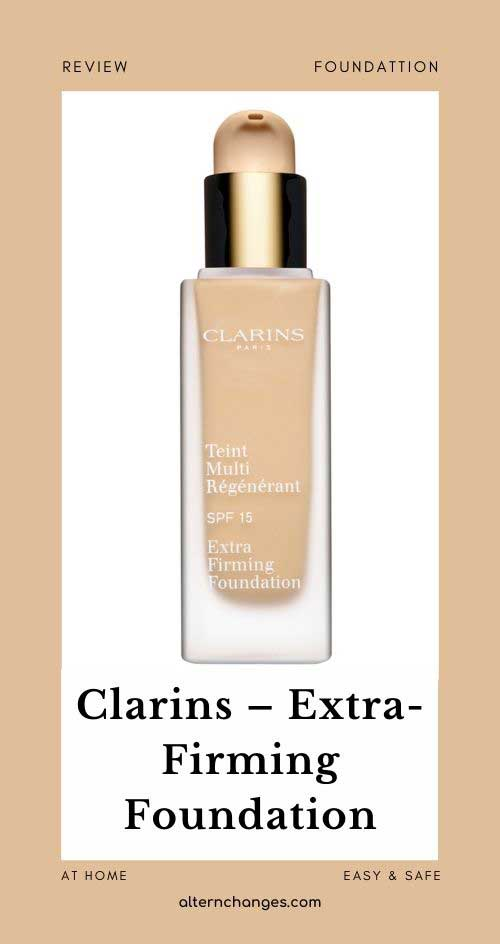 Clarins – Extra-Firming Foundation SPF 15 105 30ml (REVIEW)