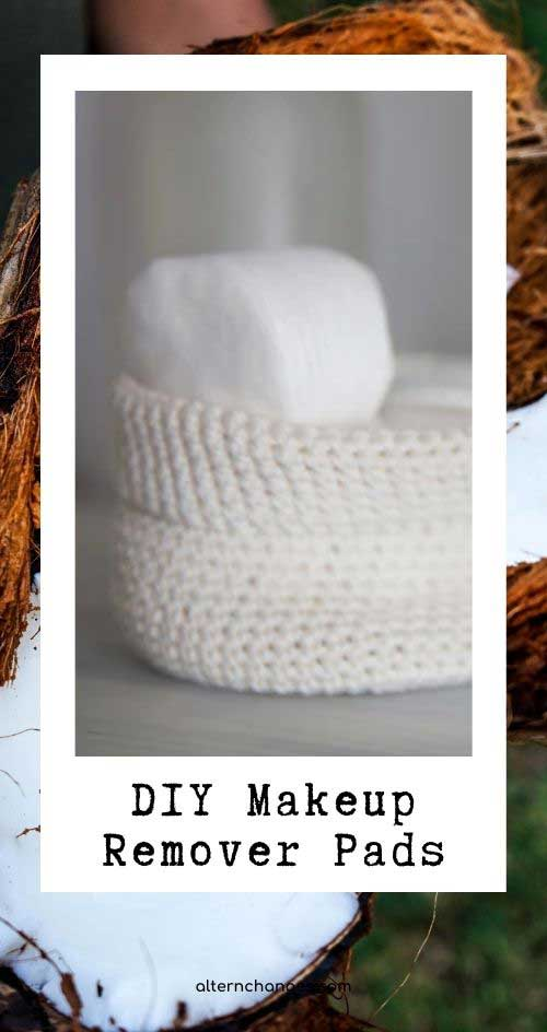 DIY remover pads