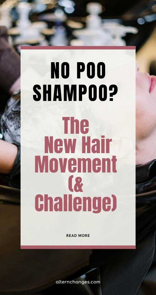 no-poo shampoo the new hair movement and hair challenge